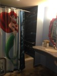 banheiro pequena sereia